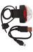 CatEye Rapid1G TL-LD611G Lampka rowerowa tylna czerwony/czarny
